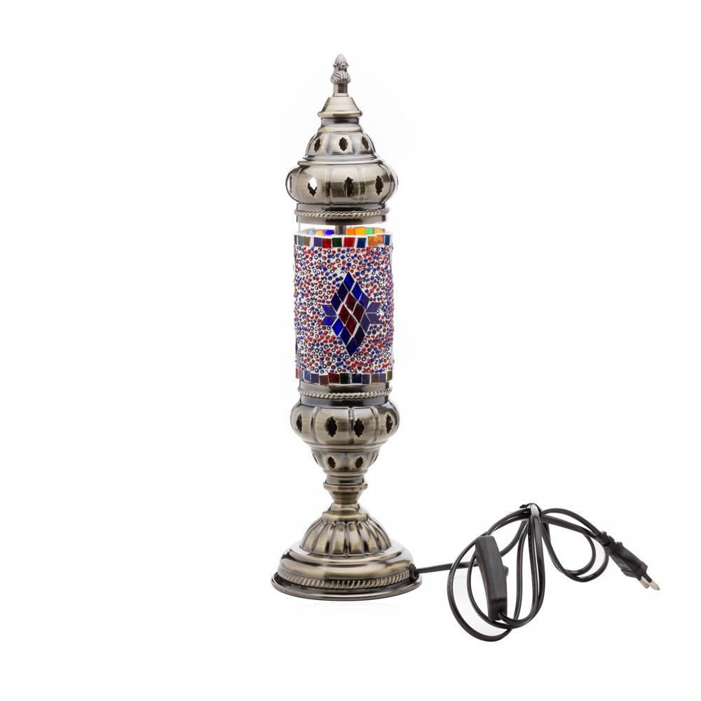 Home Vintage Beautifully Mediterranean Turkish Glass Mosaic Craft Lamp