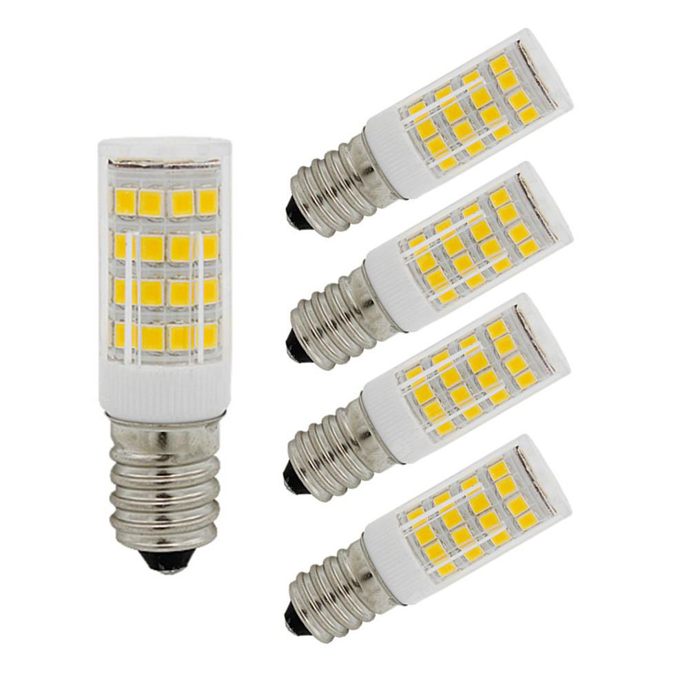 OMTO 5PCS Mini E14 LED Bulb 220V SMD2835 3W 5W 7W Corn Lamp Spotlight