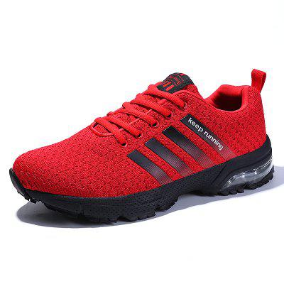 Men Casual Fashion Lace Up Mesh Running Air Big Size Shoes mycolen 2018 new fashion shoes men classic lace up gentleman male casual business dress black derby formal shoe sapatenis