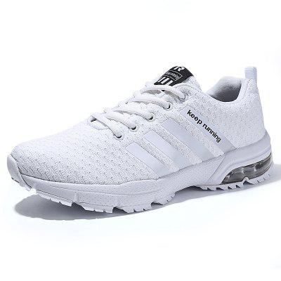 Men Casual Fashion Lace Up Mesh Running Air Big Size Shoes outdoor sport women high top running shoes genuine leather running boots sneakers women plus big size