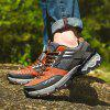 Men Casual Fashion Lace Up Climbing Running Air Big Size Shoes - ORANGE