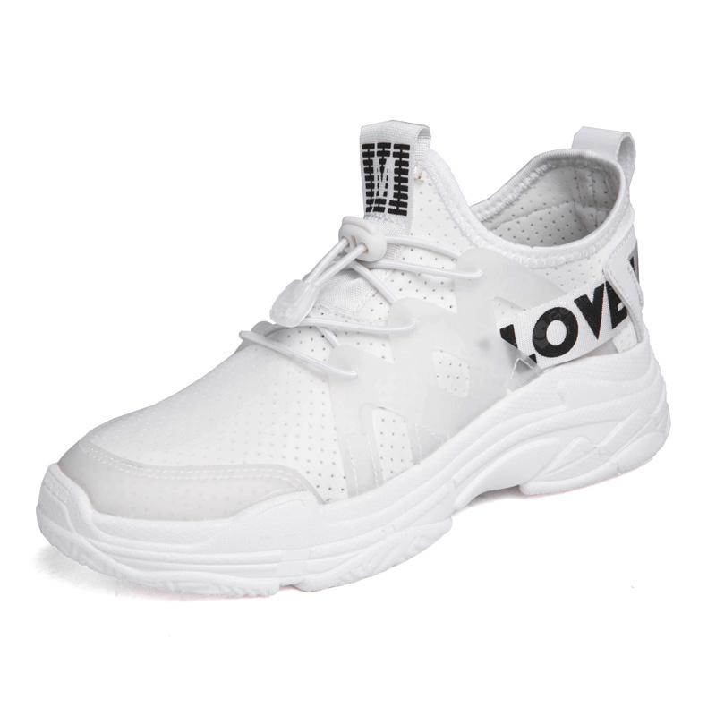 Fashion Women Sport Pink Leisure Breathable Athletic Training Sneakers
