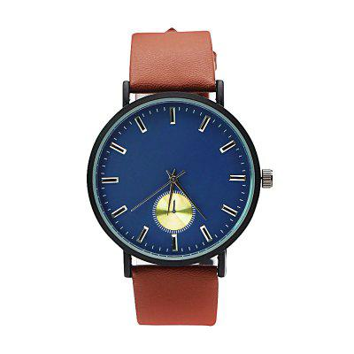 Cooho C01 Brand Casual Watch Leather Men Male Business Clock