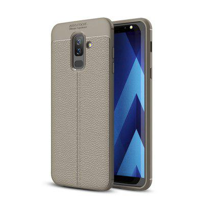 Case for Samsung Galaxy A6 Plus Shockproof Back Cover Solid Color Soft TPU 5v 3500mah external power back battery case w pu front cover for samsung galaxy s5 black