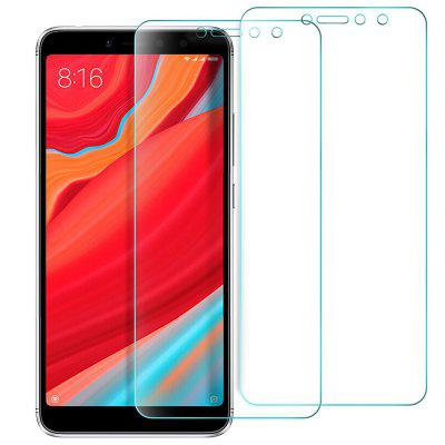 2pcs 2.5D Arc Edge Tempered Glass Screen Film for Xiaomi Redmi S2