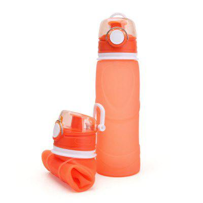 Silicone Travel Folding Water Bottle