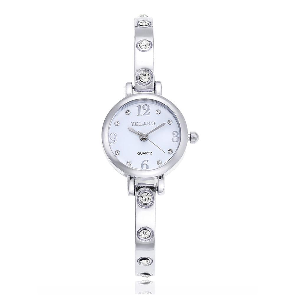 Fashion Women's Bracelet Watch Stainless Steel Dress Watch