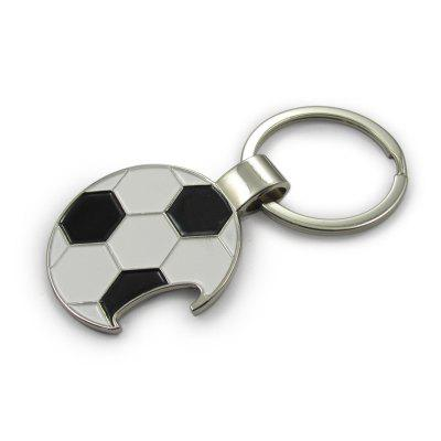 Soccer Football Keychain Metal Bottle Opener Keyring Pendant женское платье gl crewneck