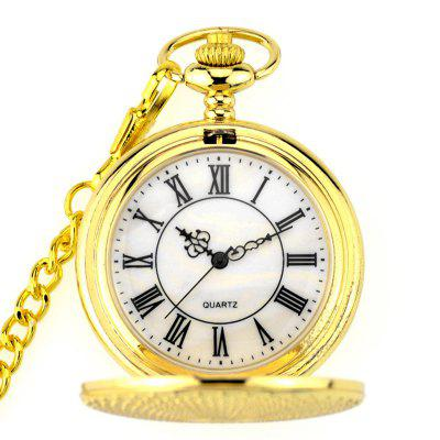 Stagionale 3152273 Renovate Hollowed Out Ancient Pocket Watch