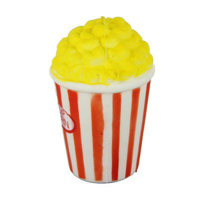 Jumbo Squishy Yellow Popcorn Relieve Stress Toys