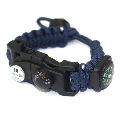 Outdoor Multifunctional LED Lights SOS Distress Signal Adjustable Survival Brace