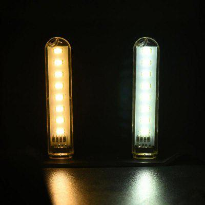 Mini Mobile Power USB LED Lamp 2PCS