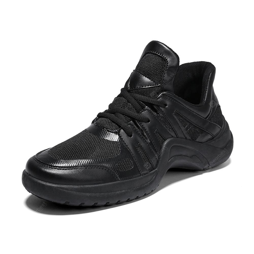 Mesh Breathable Fabric Men Sports Shoes