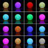 YWXLight 12CM Rechargeable 3D Print Moon Lamp 16 Color Change Touch Switch - MULTI