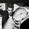 CURREN Men's Luxury Fashion and Casual Simple Stainless Steel Quartz Wrist Watch - SILVER