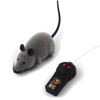 Patgoal RC Funny Wireless Electronic Remote Control Mouse Rat  Toy for Pets