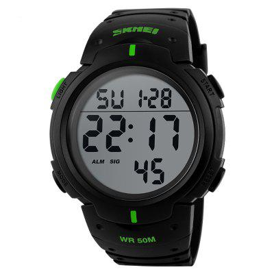 SKMEI Outdoor Sports Men Running Cronografo digitale con quadrante grande
