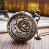 Mevsimlik 3152331 A Rose Pocket Watch Delikli - BRONZ