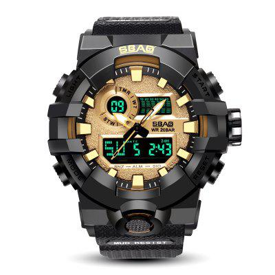 SBAO Men Outdoors Waterproof Electronic Watch