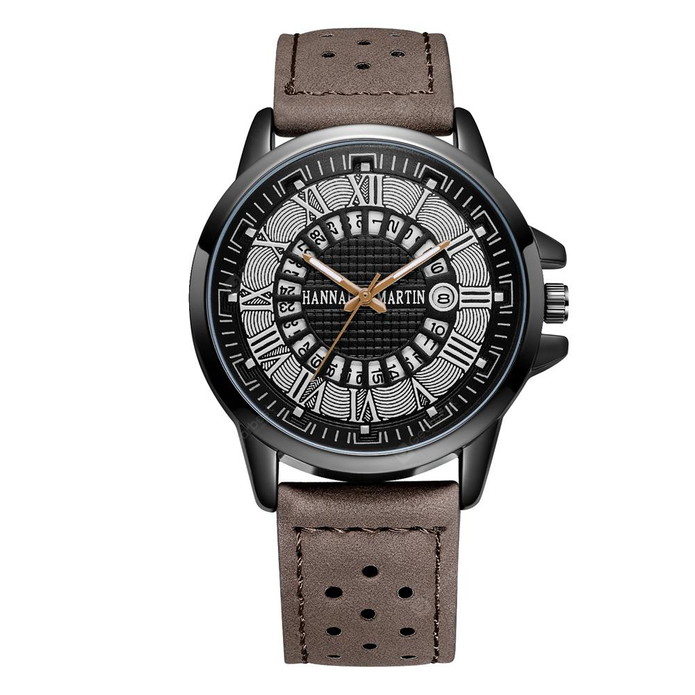 Fashion Large Dial Military Quartz Men  Sport Watch
