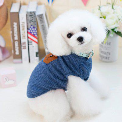 Lovoyager VB1801 Hot Selling Cotton Pet Summer Dog Clothes for Small Dogs