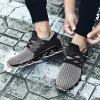 Running Couple Shoes Trainers Men Jogging Plus Size Outdoor Athletic Sneakers - DARK GRAY