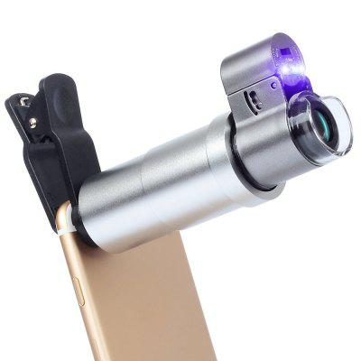 APEXEL APL-200XM Universal 200x Zoom Microscope Magnifier Macro Lens for iPhone 1000x digital microscope magnifier for specimen observation