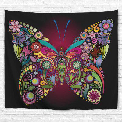 Colorful Butterfly 3D Printing Home Wall Hanging Tapestry for Decoration tropical forest 3d printing home wall hanging tapestry for decoration