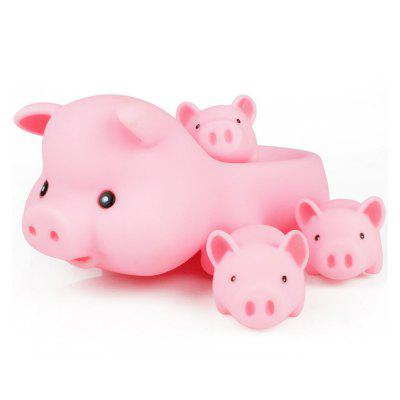 Rubber Pig Baby Bath Toy for Kid