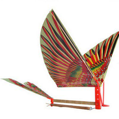 1PC DIY Rubber Band Power Handmade Bionic Air Plane Ornithopter