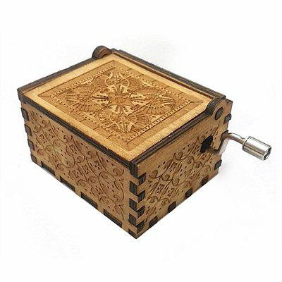 Manual Wooden Music Box