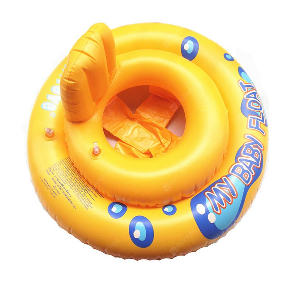 Baby Pool Float Ring Bath Buoyancy Aid Outdoor Beach Swim Seat