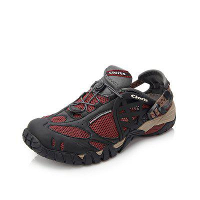 CLORTS Mesh Breathable Outdoor Sport Shoes Water Shoes Summer Men Shoes