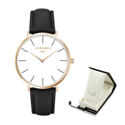 Super Thin Money Simple Fashion Couple Watch solen automatic mechanical watches ultra thin waterproof watch men s simple and thin fashion quality steel date male clock