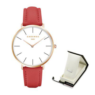 Super Thin Money Simple Fashion Couple Watch