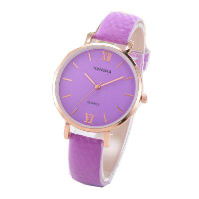 XR2463 Women Color Changes PU Band Watch