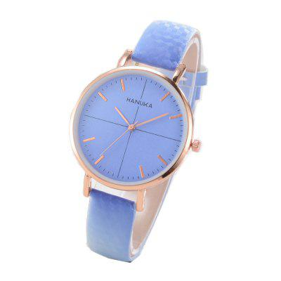 XR2464 Women Color Changes PU Band Watch