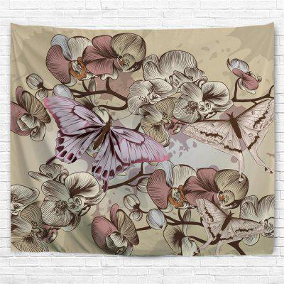 Butterfly 3D Printing Home Wall Hanging Tapestry for Decoration tropical forest 3d printing home wall hanging tapestry for decoration
