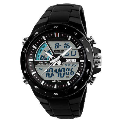 SKMEI Sport Herren Mode Lässig Digital Quarz Alarm Military Watch