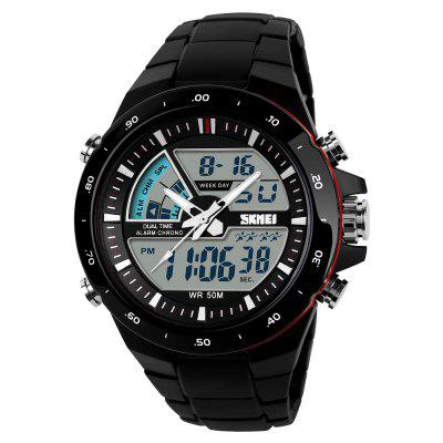 SKMEI Sports Men Moda Casual Digital Quartz Alarm Militar Assista