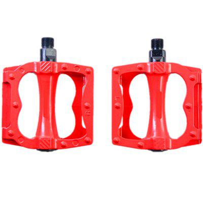 Фото New Ultra-light Aluminum Alloy Riding Mountain Bike Pedal 2pcs mymei outdoor 90db ring alarm loud horn aluminum bicycle bike safety handlebar bell