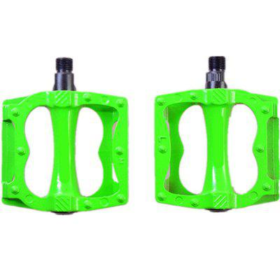 New Ultra-light Aluminum Alloy Riding Mountain Bike Pedal 2pcs mymei outdoor 90db ring alarm loud horn aluminum bicycle bike safety handlebar bell