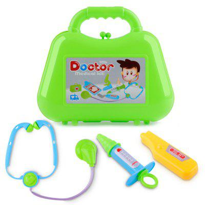 Kids Play Set Toys Puzzle Simulation Box of Medicine Doctor