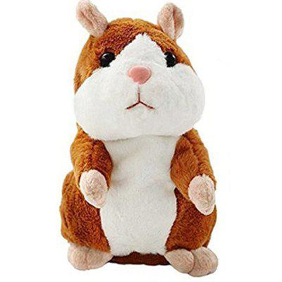 Repeats What You Say Plush Animal Electronic Pet Mimicry Toy