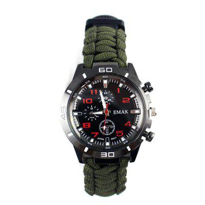 Outdoor Hiking Camping Multifunction Watch