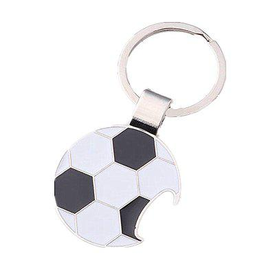 Creative Football Bottle Opener Key Ring