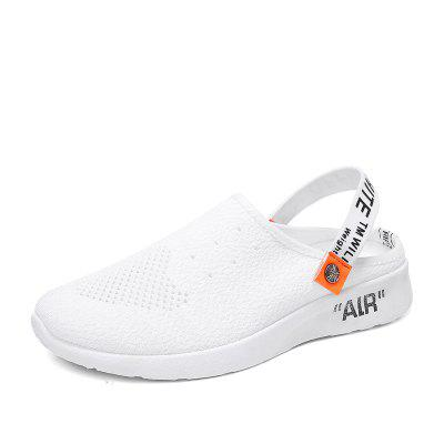 Summer Fly-Knit Breathable Fashion Slippers