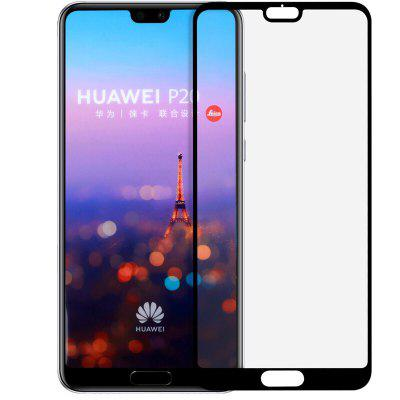 For Huawei P20 Pro Screen Protector Full Cover 9H 25D Tempered Glass Film