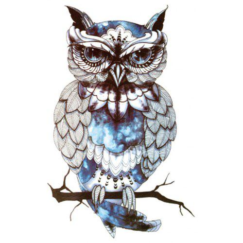 Starry Owl Pattern Durable Waterproof Non-toxic Temporary Tattoo ...