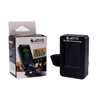 Guitar Bass Common Tuner Clip-on LCD Screen 360 Rotatable Accurate Fast Tuning